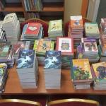 Duże zakupy książkowe w Bibliotece.