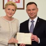 Podziękowanie od Prezydenta Rzeczpospolitej Polskiej